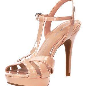 Gianni Bini Heleena patent heels